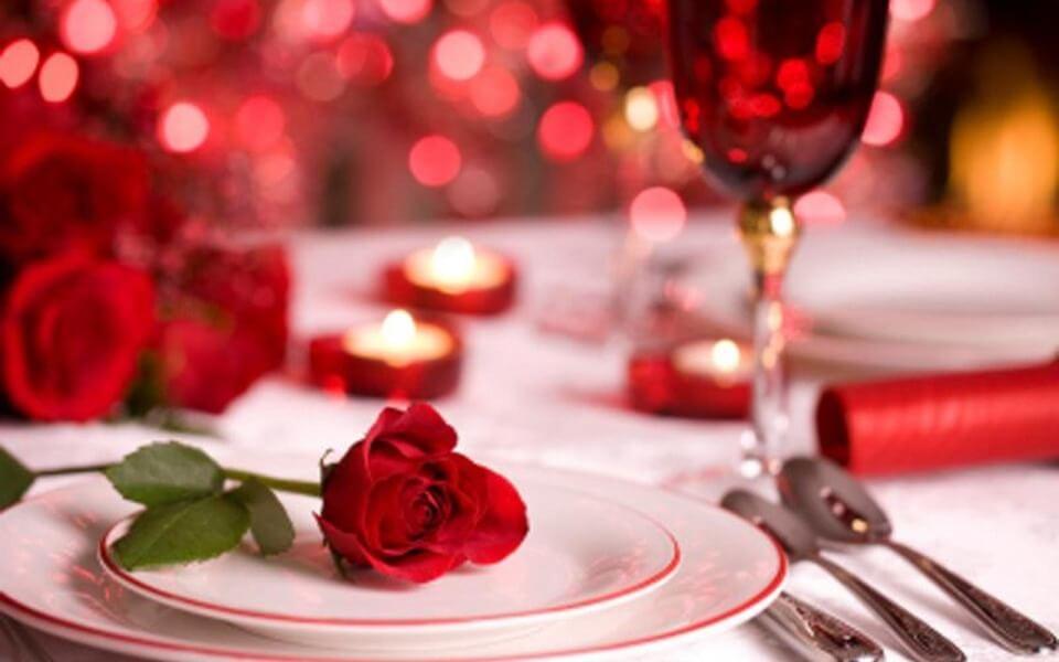 Романтический букет роз