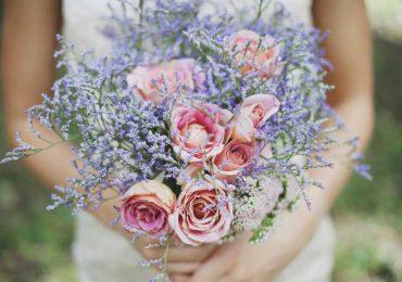 Гамма цветов для букетов в стиле Шебби-шик