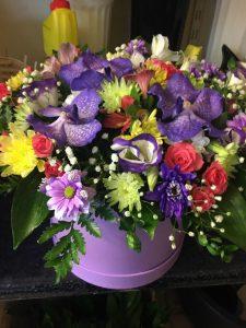 Цветы-в-коробках