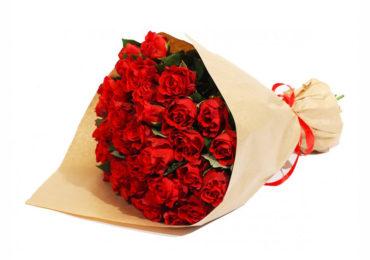 классический букет роз