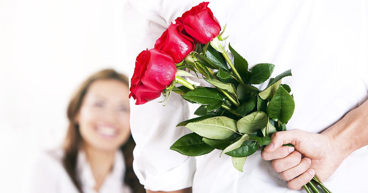 Открытки парень дарит цветы, мастер класс скрап
