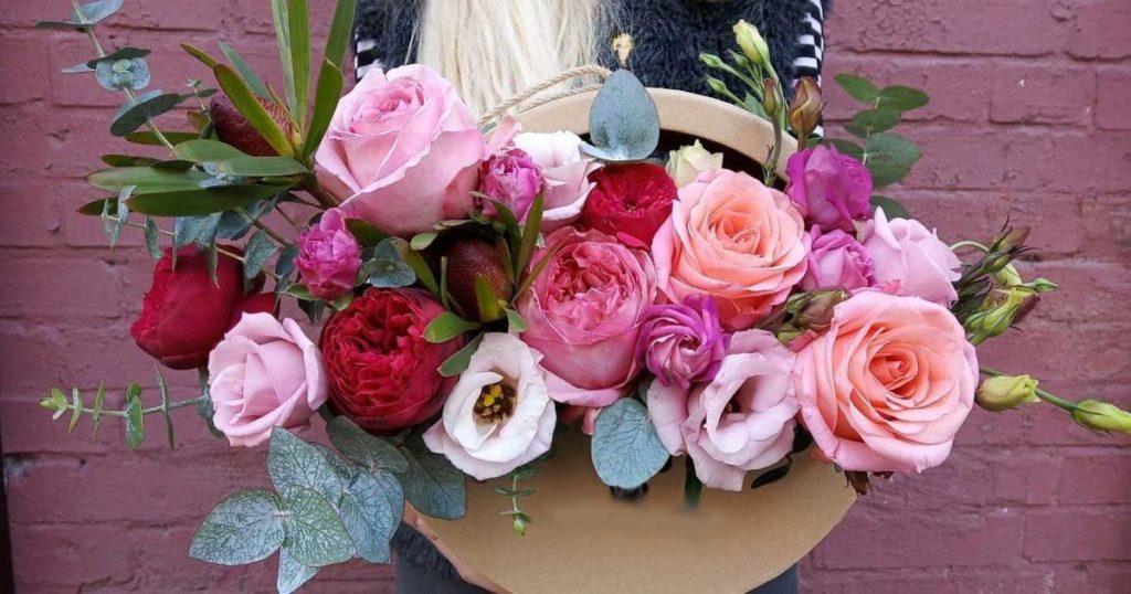 Купить цветы на День рождения