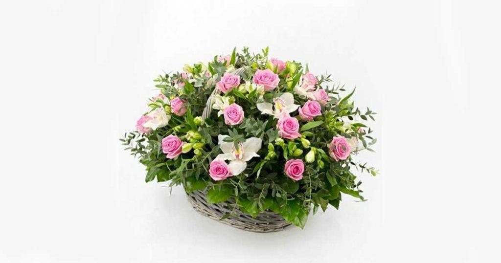 Где купить корзину с цветами?